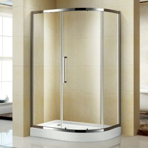 Offset Quadrant Framed Shower Enclosure with One Sliding Door Panels pictures & photos