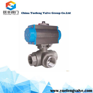 Pneumatic Control Actuator Ball Valve pictures & photos
