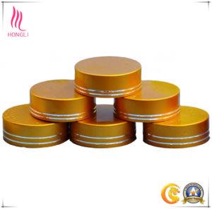 Golden Aluminum Waterproof Cap for Cosmetic Jar pictures & photos