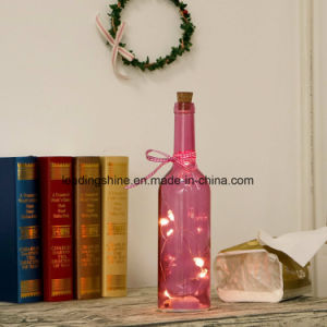 Decorative LED Bottle Lights with Cork and LED Starry Skull String Light Home Decor Wine Bottle pictures & photos