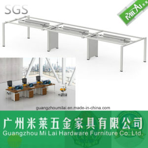Modern Double Side Workstation Table with Partition Panel pictures & photos