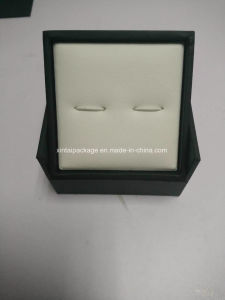 Elegant Black Cufflink Box pictures & photos