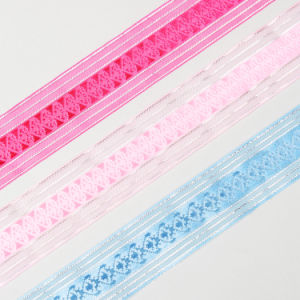 Decorated Sheer Ribbon pictures & photos