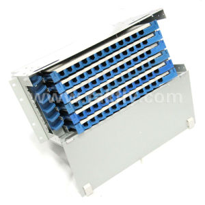 Rack-Mount Fiber Optic Patch Panel 72 Core ODF Distribution Frame pictures & photos