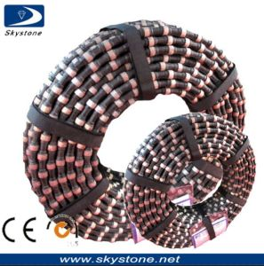 Diamond Wire Saw Cutting for Granite Quarry pictures & photos