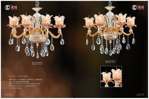 Elegant &Romatic Colourful Chandelier Light pictures & photos