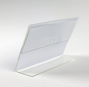 Custom Commercial Acrylic Sign Frames & Holders pictures & photos