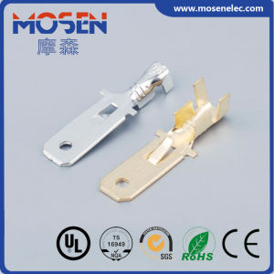 Male Terminal Press Electric DJ611-6.3A Binding Post Wire Connector pictures & photos