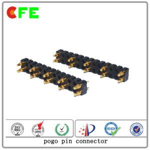 Battery Connector Double Row 10pin DIP Pogo Pin Connector pictures & photos