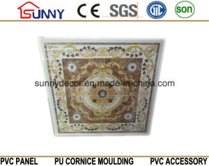 Popular Laser Design PVC Panels for Ceiling Tiles 595/600/603mm pictures & photos