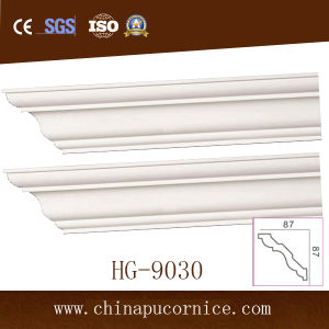 Polyurethane Cornice Not Gypsum Cornice for Dubai Market pictures & photos