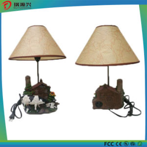 Polyresin Night Light Lamp Portable Mini USB Bluetooth Speaker