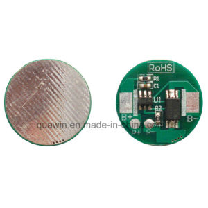3.7V Li-ion Battery BMS 1s 18650 18500 Battery PCM 3A pictures & photos