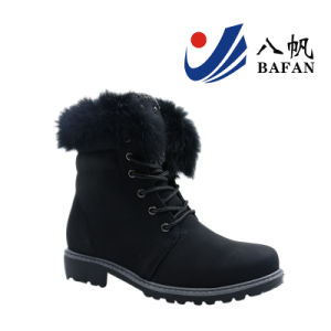 2017 New Fashion Women Boots with Fur on Collor Bf170178 pictures & photos