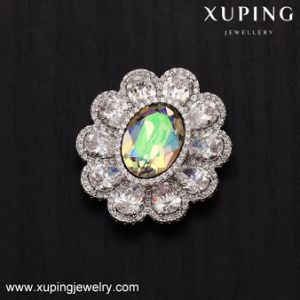 32900 Fashion Big Stone Flower Pendant with Crystals From Swarovski Jewelry pictures & photos