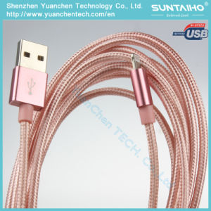1m Nylon Braided Lightning to USB Charging Cable for iPhone 7 pictures & photos