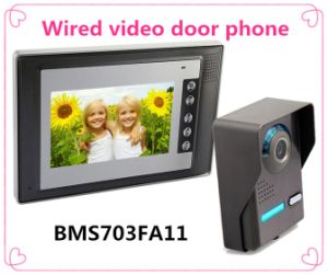 Video Door Phone with Intercom Function Home Security System pictures & photos