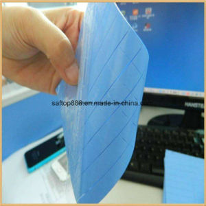 Extremly Low Density Thermal Silicone Pad 3W for TV No MOQ Free Sample Gap Filler Silicone Gasket pictures & photos