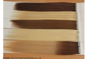 Good Quality Invisible PU Skin Tape Human Remy Hair Extension pictures & photos