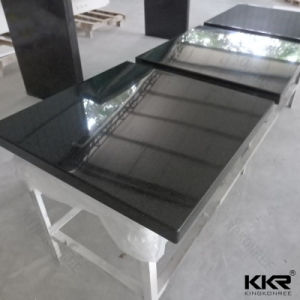 Black Solid Surface Table, Modern Food Court Table pictures & photos