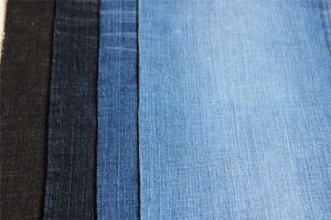 Cotton Spandex Cross Hatch Slub Denim pictures & photos