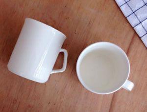 White Promotional Porcelain Mug Large Ceramic Coffee Mug pictures & photos
