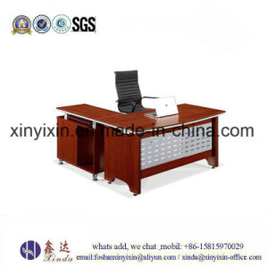 Cheap Staff Office Desk Wooden Office Furniture (SD-009#) pictures & photos