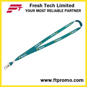 OEM Screen Print Cheap Polyester Lanyard pictures & photos