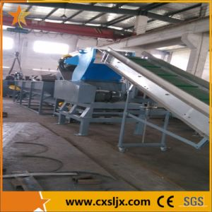 500kg/H Waste Plastic PP/PE/LLDPE Film Washing Line pictures & photos