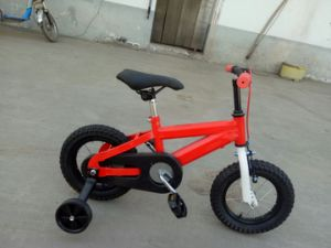 """12"""" Chinese Red Frame Black Tire Kids Bicycles pictures & photos"""