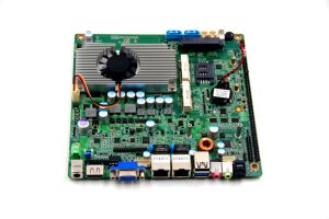 Fanless Onboard Baytrail Celeron N2806 6.5W Firewall Industrial Motherboard with Mini Itx Quad Core CPU Wireless 3G pictures & photos