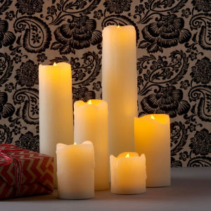 LED Candle Wedding Decorative Moving Wick pictures & photos