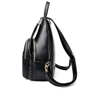 Fashion Women Lady′s Backpack Double Shoulder Bag pictures & photos