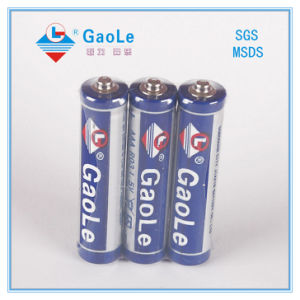 Super Heavy Duty AAA 1.5V R03 Battery (Um4) pictures & photos