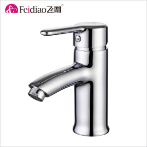 Hot Sale Good Quality Chrome Plated Brass Kitchen Sink Mixer Faucet pictures & photos