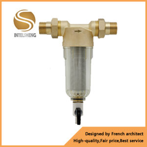 Backwashable Water Filter / Inline Water Prefilter pictures & photos