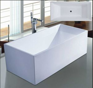 1700mm Rectangle Freestanding Modern Bathtub (AT-6707) pictures & photos