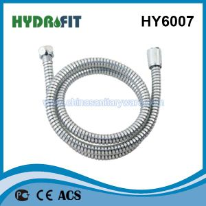 Hy6007 Pvcshower Hose (PVC shower hose special golden) pictures & photos