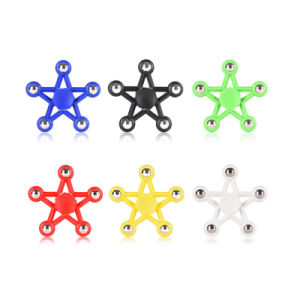Star Hand Spinner Anti Stress Reliever Multicolor Finger Spinner Anti Stress Toy pictures & photos