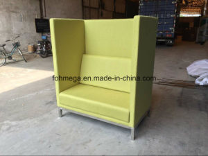 Leisure Style Customized Restaurant Booths in Green (FOH-HRB1) pictures & photos