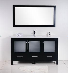 Single Wash Basin Painting Bathroom Cabinet