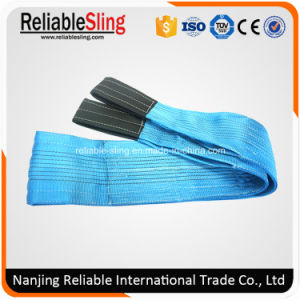 8 Ton Heavy Duty Polyester Duplex Flat Webbing Slings pictures & photos