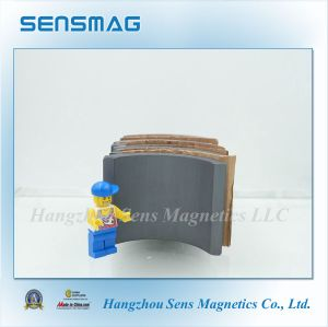 Anisotropic Arc Hard Permanet Sintered Ferrite Magnet with RoHS pictures & photos