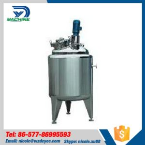 Food Grade Ss304 Electric Heating Mixing Tank with Agitator pictures & photos