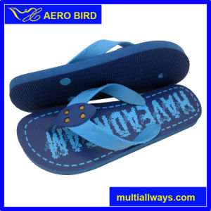 Comfortable PE Slipper with New Design Strap pictures & photos
