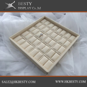 Customized Ring Display Tray with Fabric pictures & photos