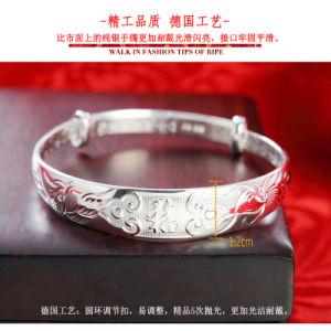 999 Silver Women′s Silver Bracelet pictures & photos
