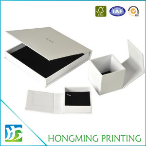Luxury Magnetic Cardboard Jewelry Packaging Box pictures & photos