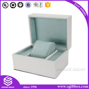 Black Wooden Red Velet Jewelry Box Packaging Gift pictures & photos