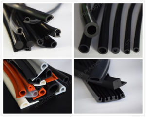 Solid Rubber EPDM Extrusion Profile pictures & photos